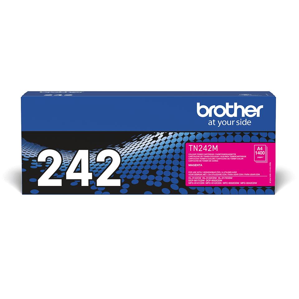 Brother TN-242M Tonerkartusche – Magenta
