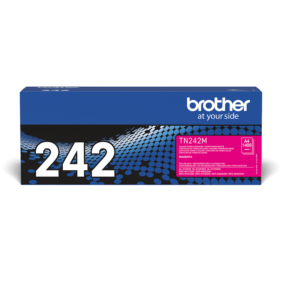 Brother TN-242M Tonerkartusche – Magenta