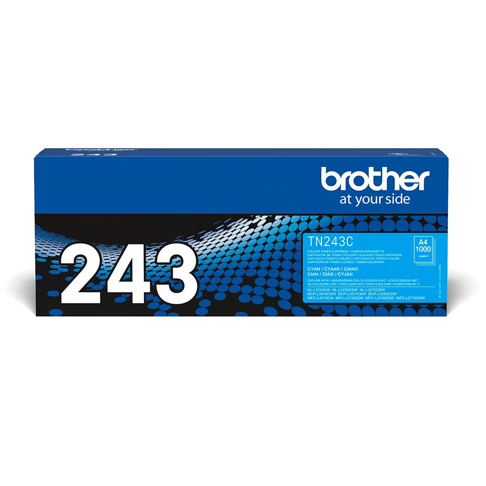 Brother TN-243C Tonerkartusche – Cyan
