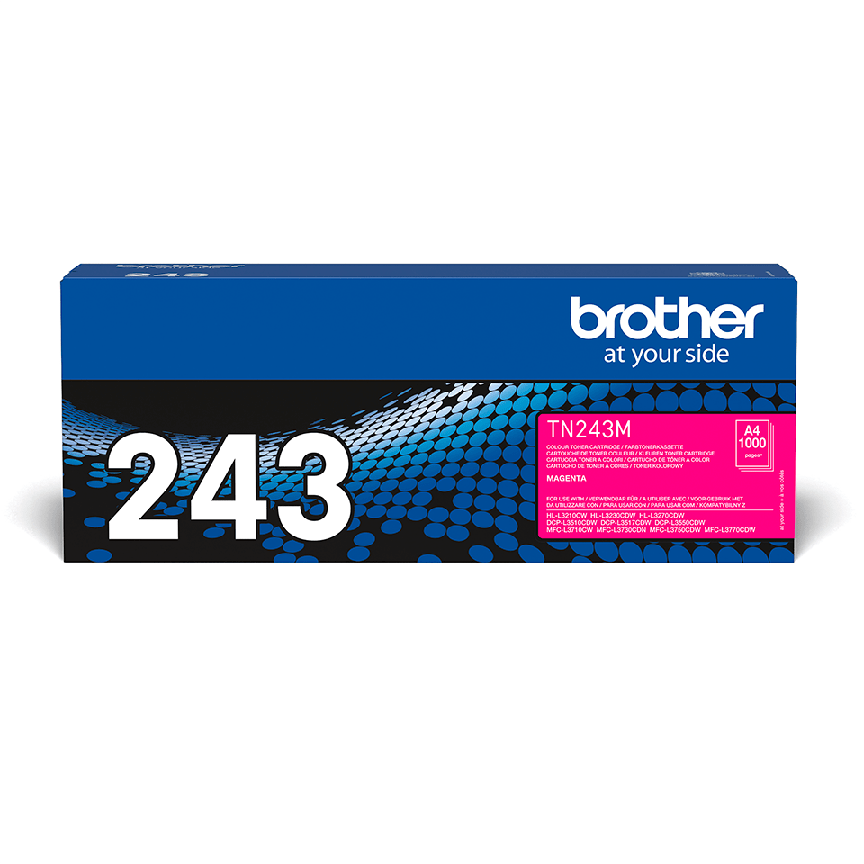 Brother TN-243M Tonerkartusche – Magenta