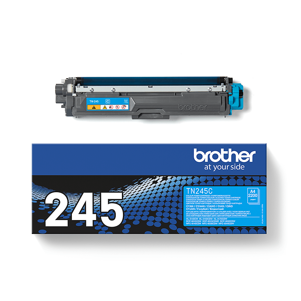 Brother TN-245C Tonerkartusche – Cyan 2