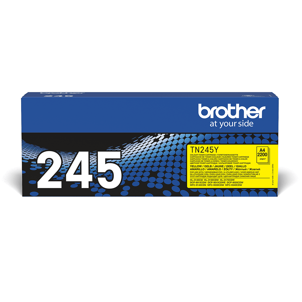 Brother TN-245Y Tonerkartusche – Gelb 2
