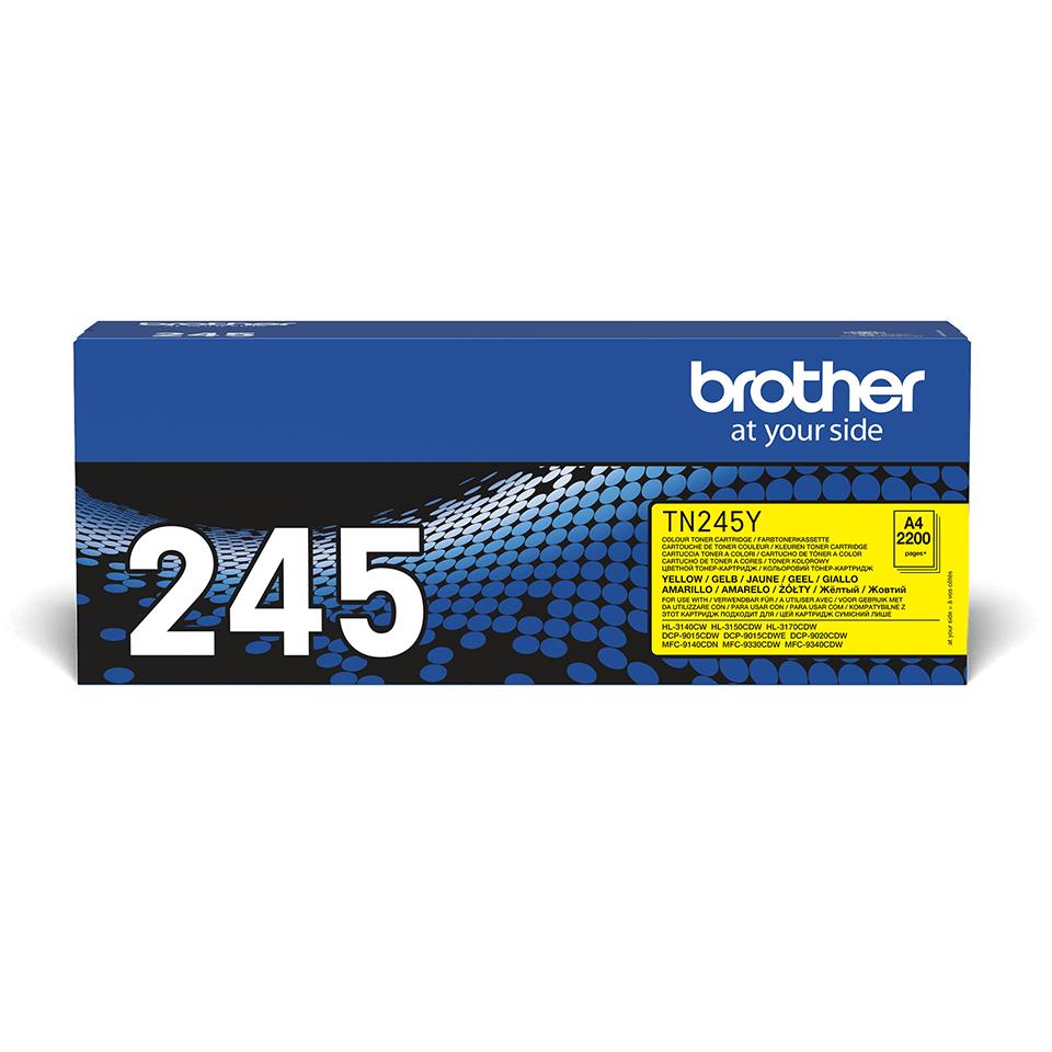 Brother TN-245Y Tonerkartusche – Gelb