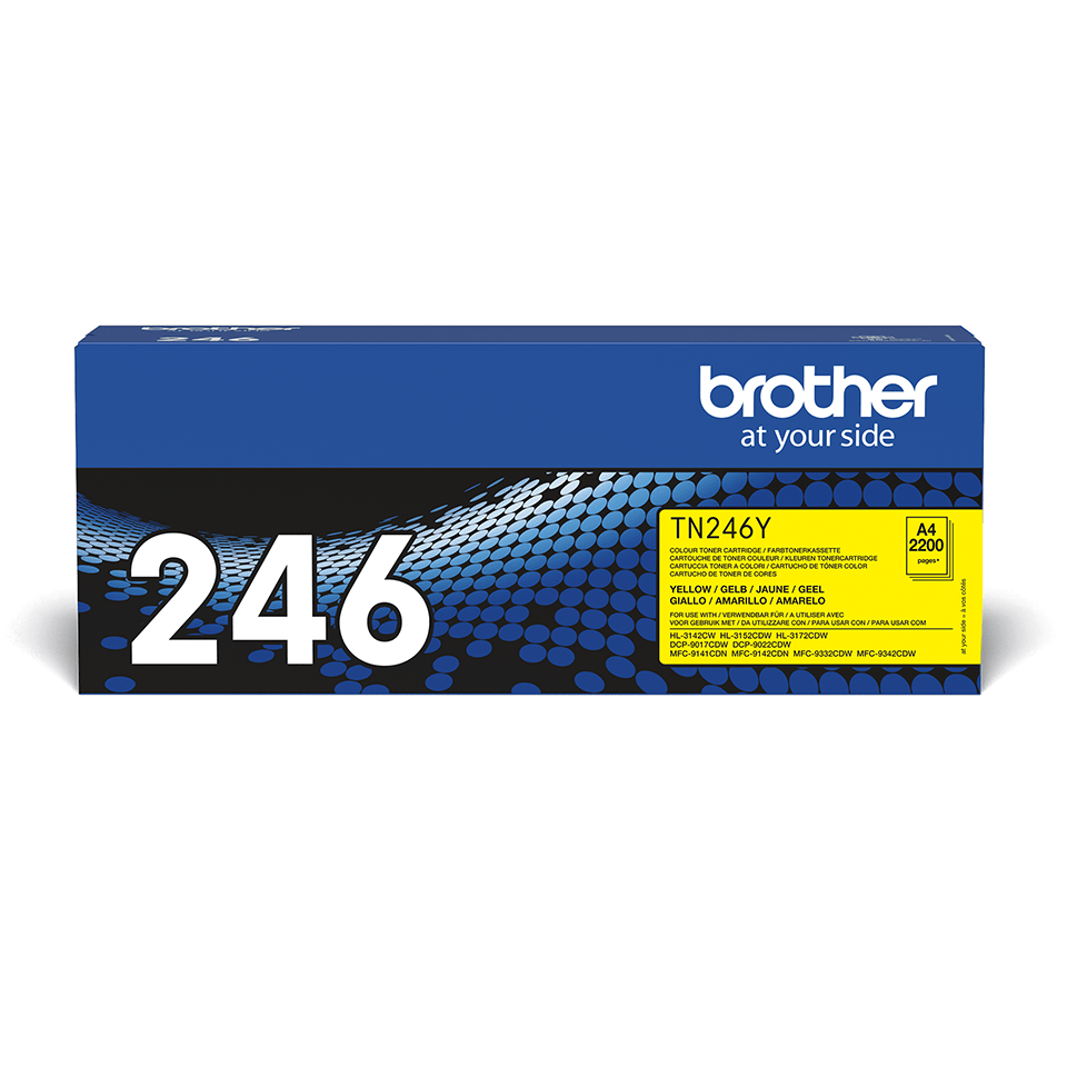 Brother TN-246Y Tonerkartusche – Gelb