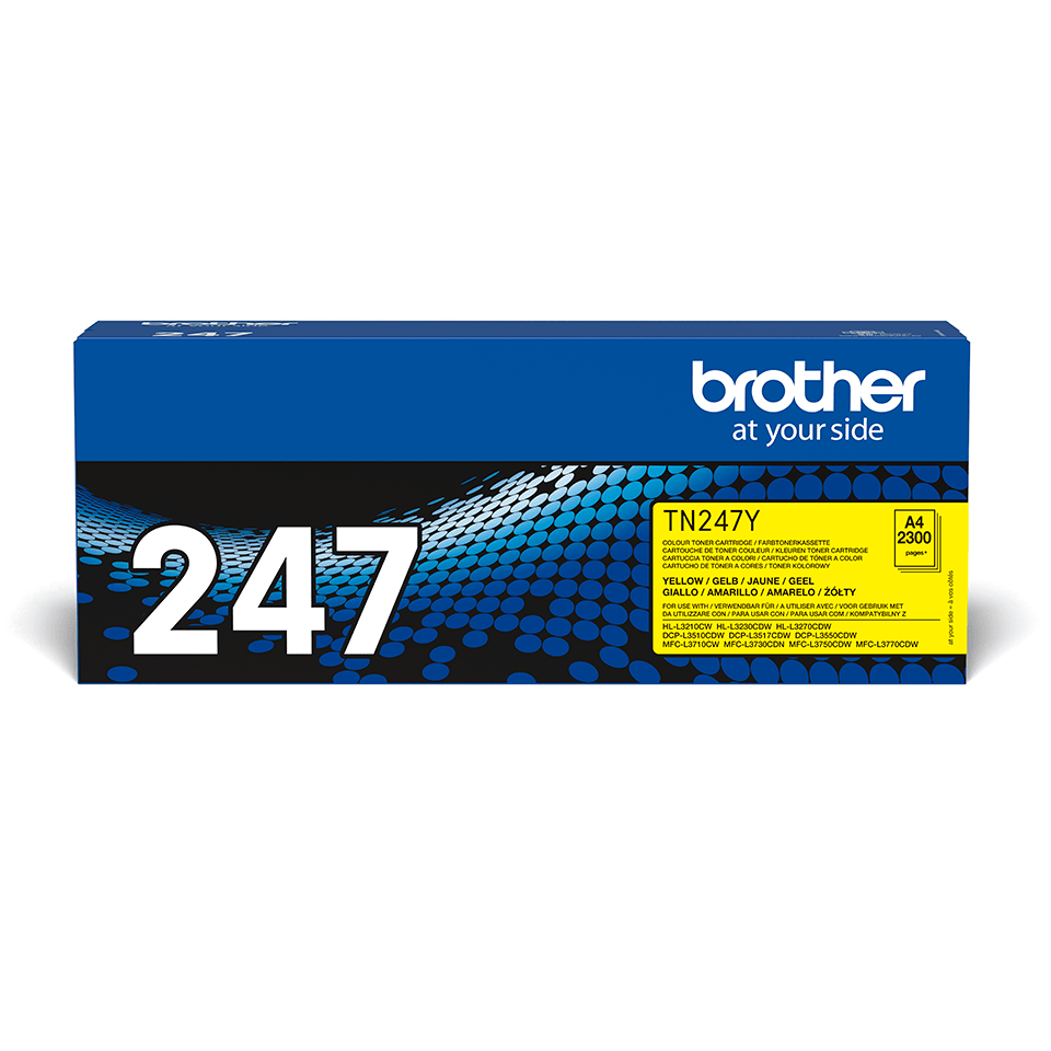 Brother TN-247Y Tonerkartusche – Gelb