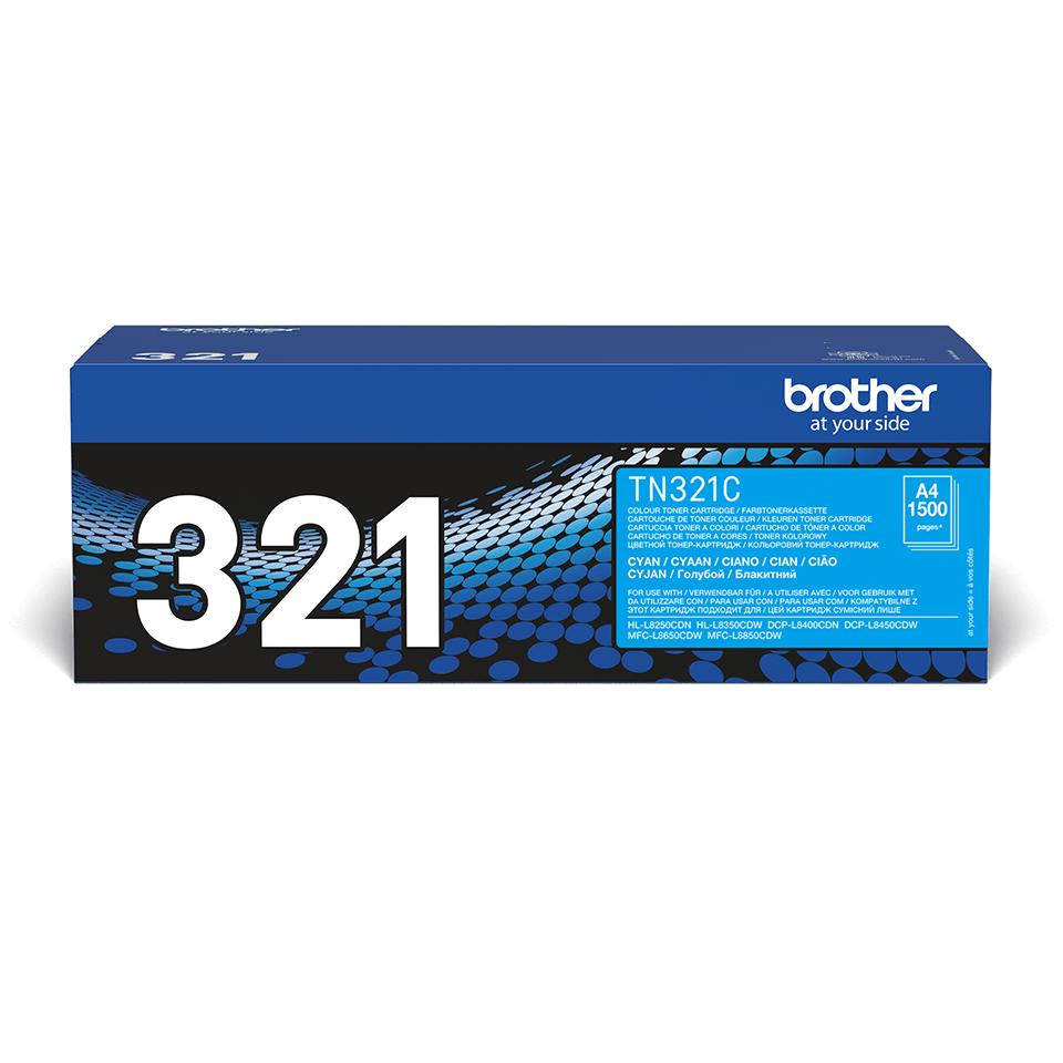 Brother TN-321C Tonerkartusche – Cyan 2