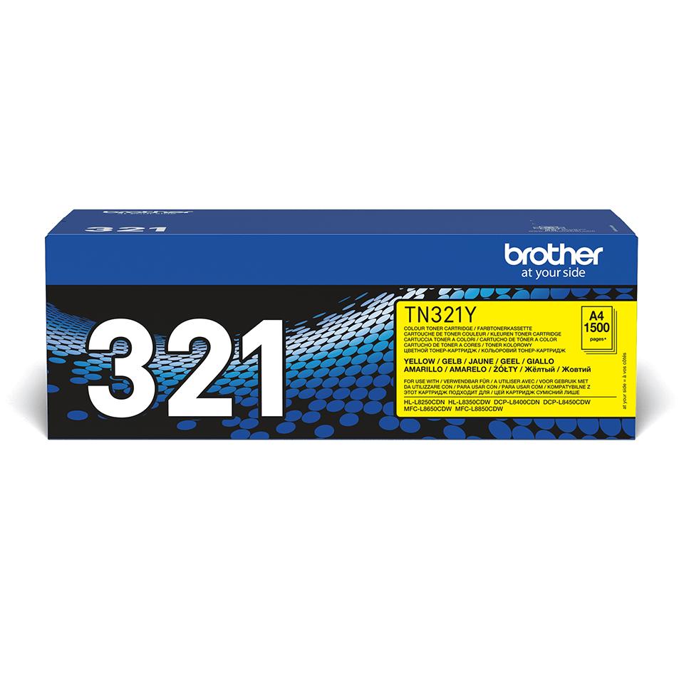 Brother TN-321Y Tonerkartusche – Gelb