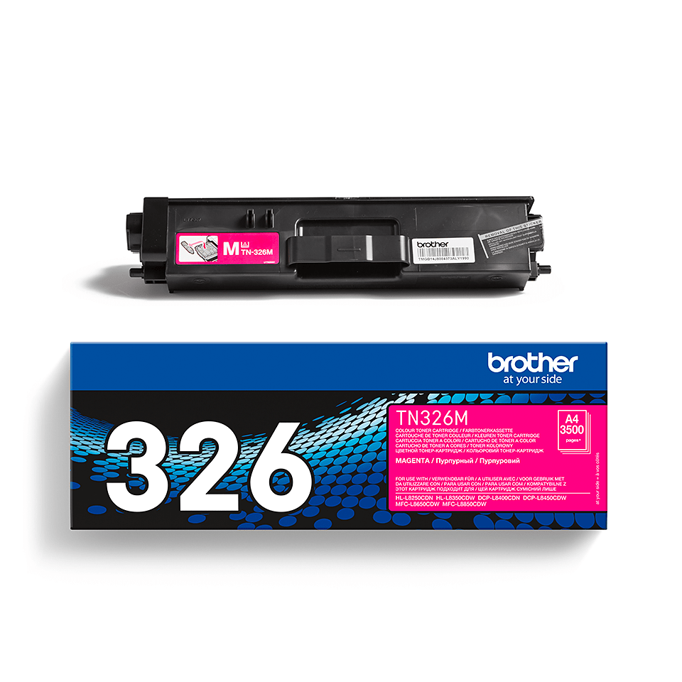 Brother TN-326M Tonerkartusche – Magenta 2