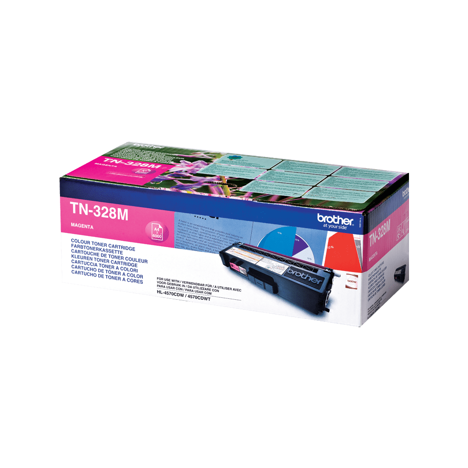 Brother TN-328M Tonerkartusche – Magenta 2