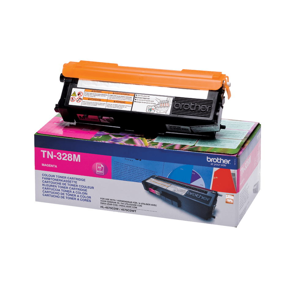 Brother TN-328M Tonerkartusche – Magenta
