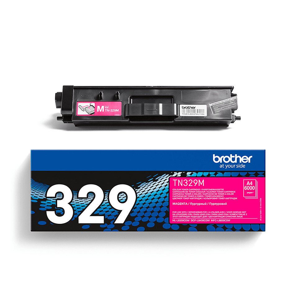 Brother TN-329M Tonerkartusche – Magenta 2