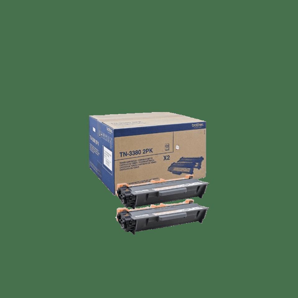 Brother TN-3380 Tonerkartusche Twin Pack 0