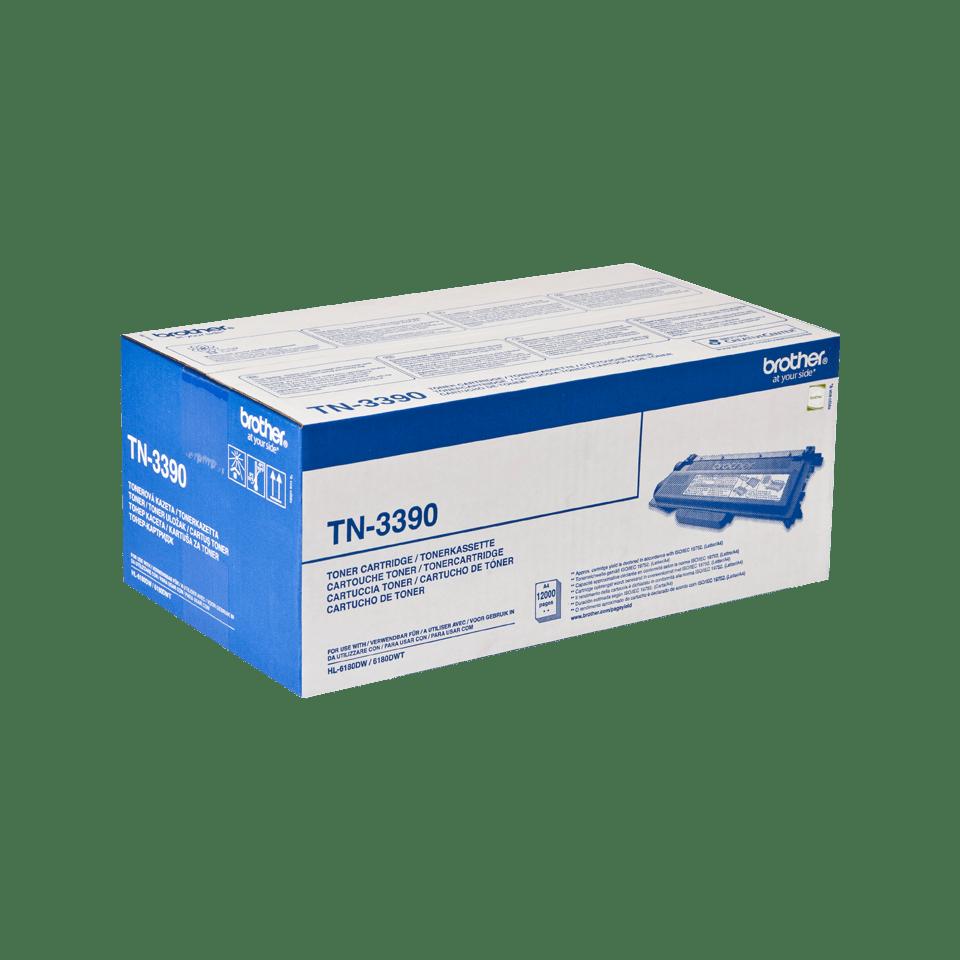 Brother TN-3390 Tonerkartusche – Schwarz 2