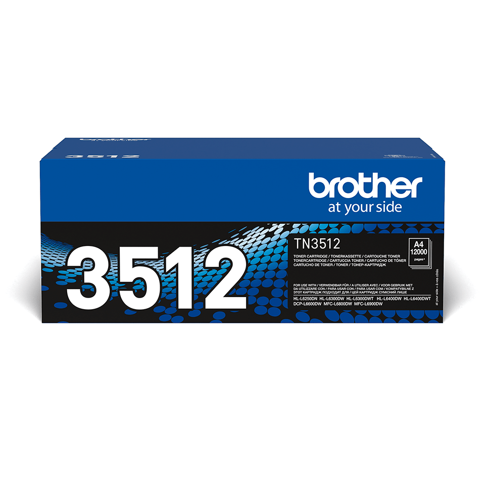 Brother TN-3512 Tonerkartusche – Schwarz