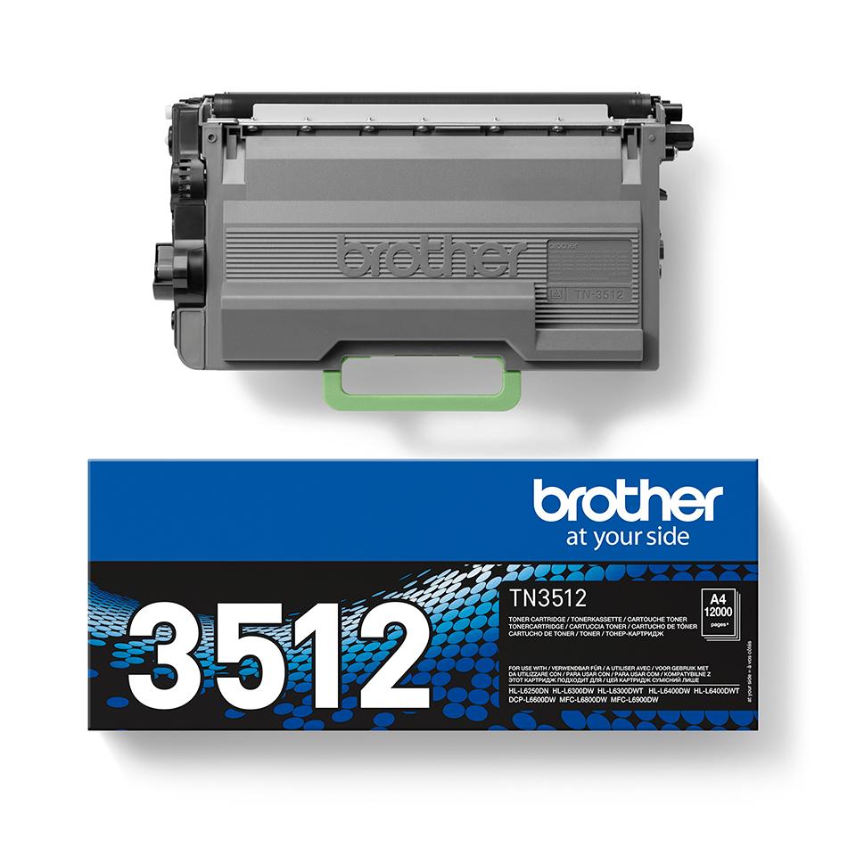 Brother TN-3512 Tonerkartusche – Schwarz