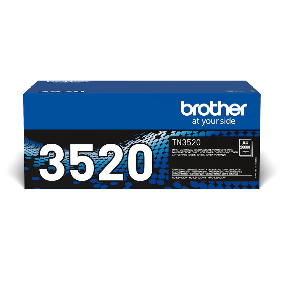 Brother TN-3520 Tonerkartusche – Schwarz 2