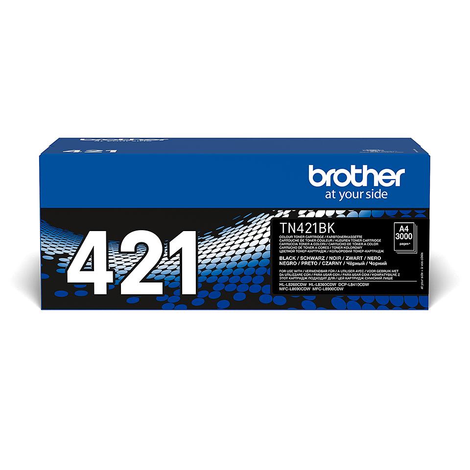 Brother TN-421BK Tonerkartusche – Schwarz 2