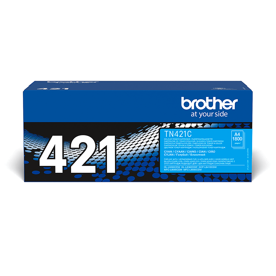 Brother TN-421C Tonerkartusche – Cyan 2