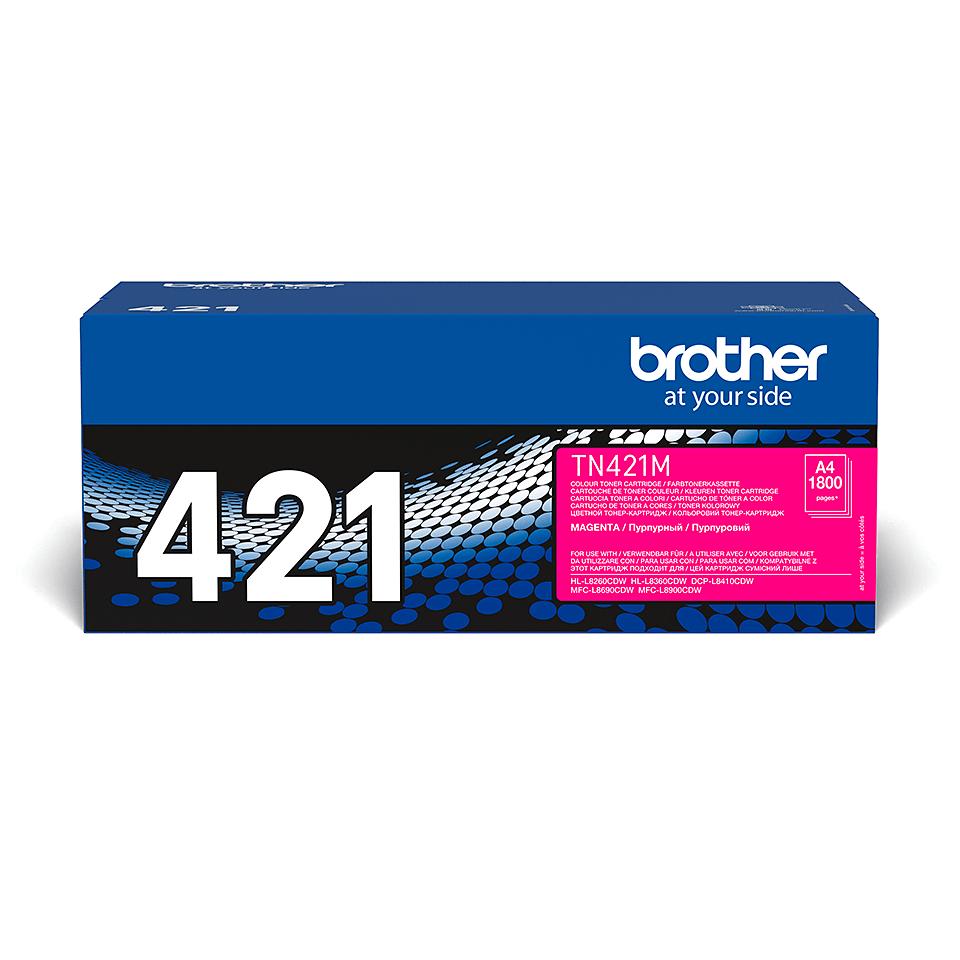 Brother TN-421M Tonerkartusche – Magenta 2