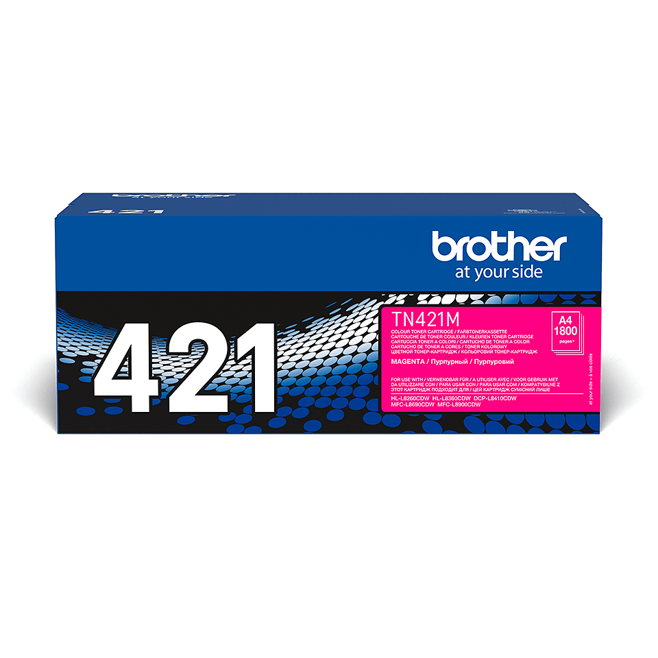 Brother TN-421M Tonerkartusche – Magenta 1
