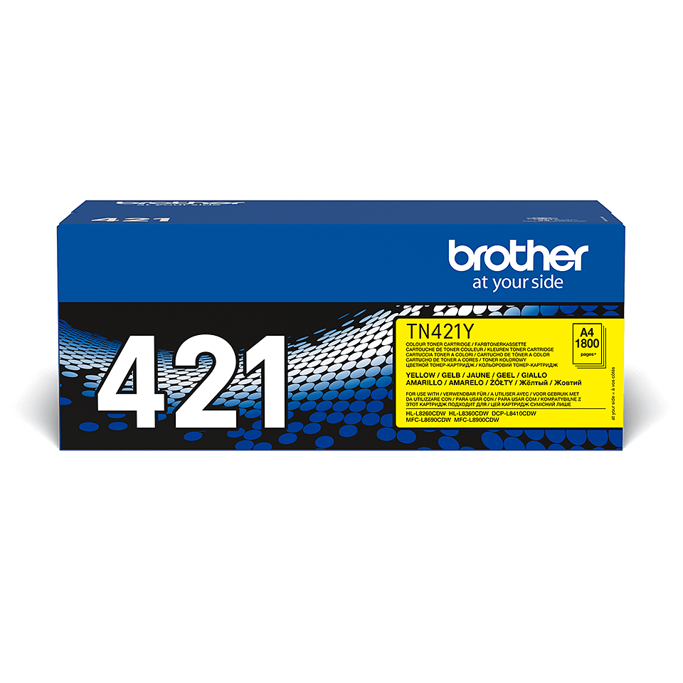 Brother TN-421Y Tonerkartusche – Gelb 2