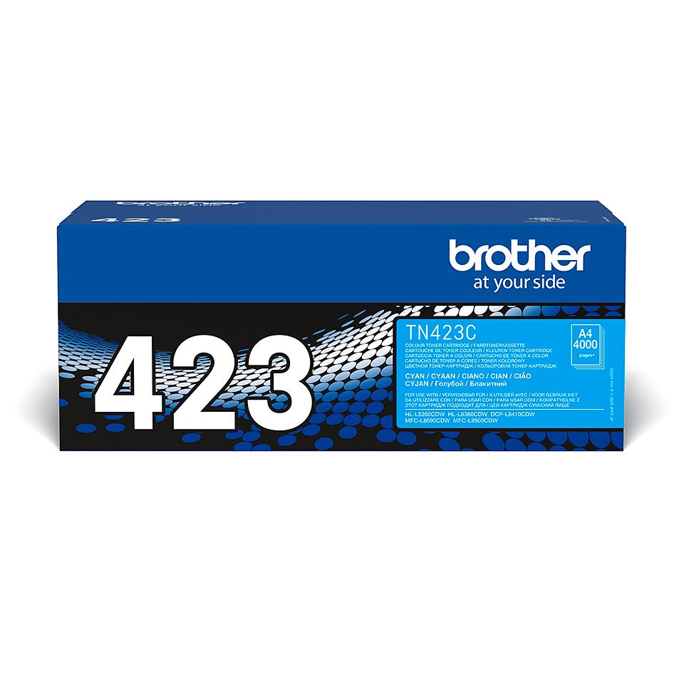 Brother TN-423C Tonerkartusche – Cyan