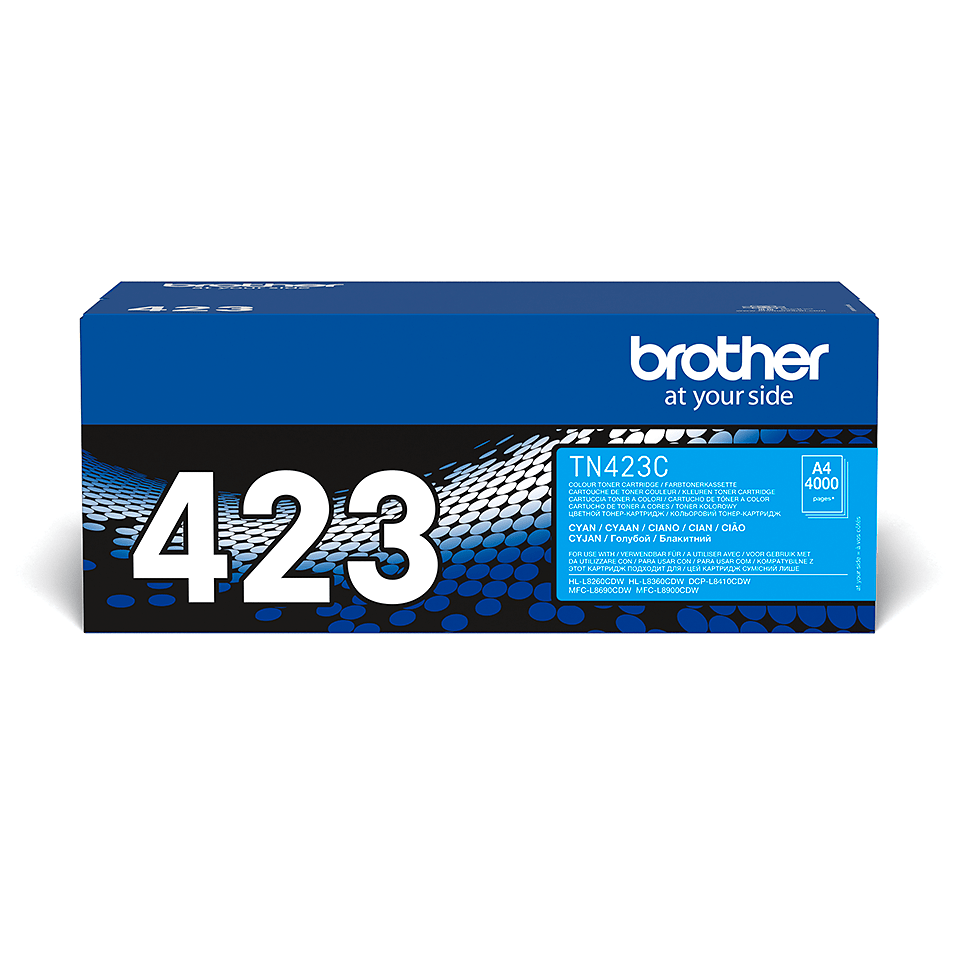Brother TN-423C Tonerkartusche – Cyan 2