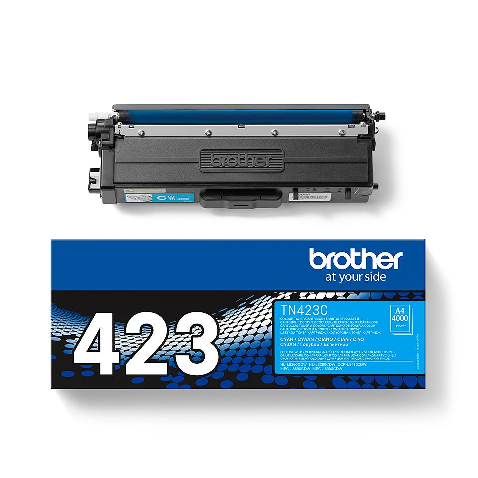 Brother TN-423C Tonerkartusche – Cyan 2