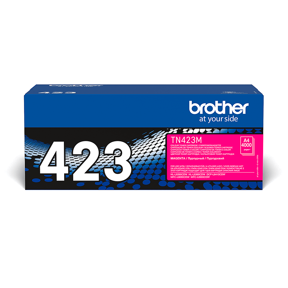 Brother TN-423M Tonerkartusche – Magenta