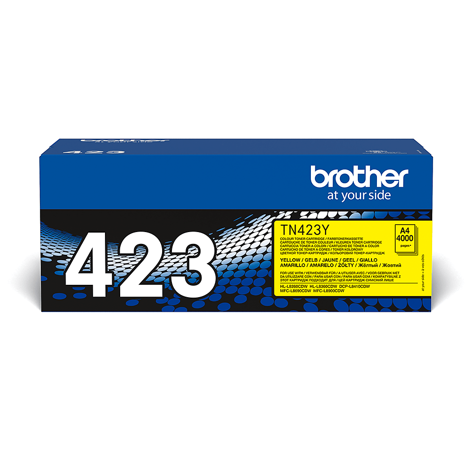 Brother TN-423Y Tonerkartusche – Gelb