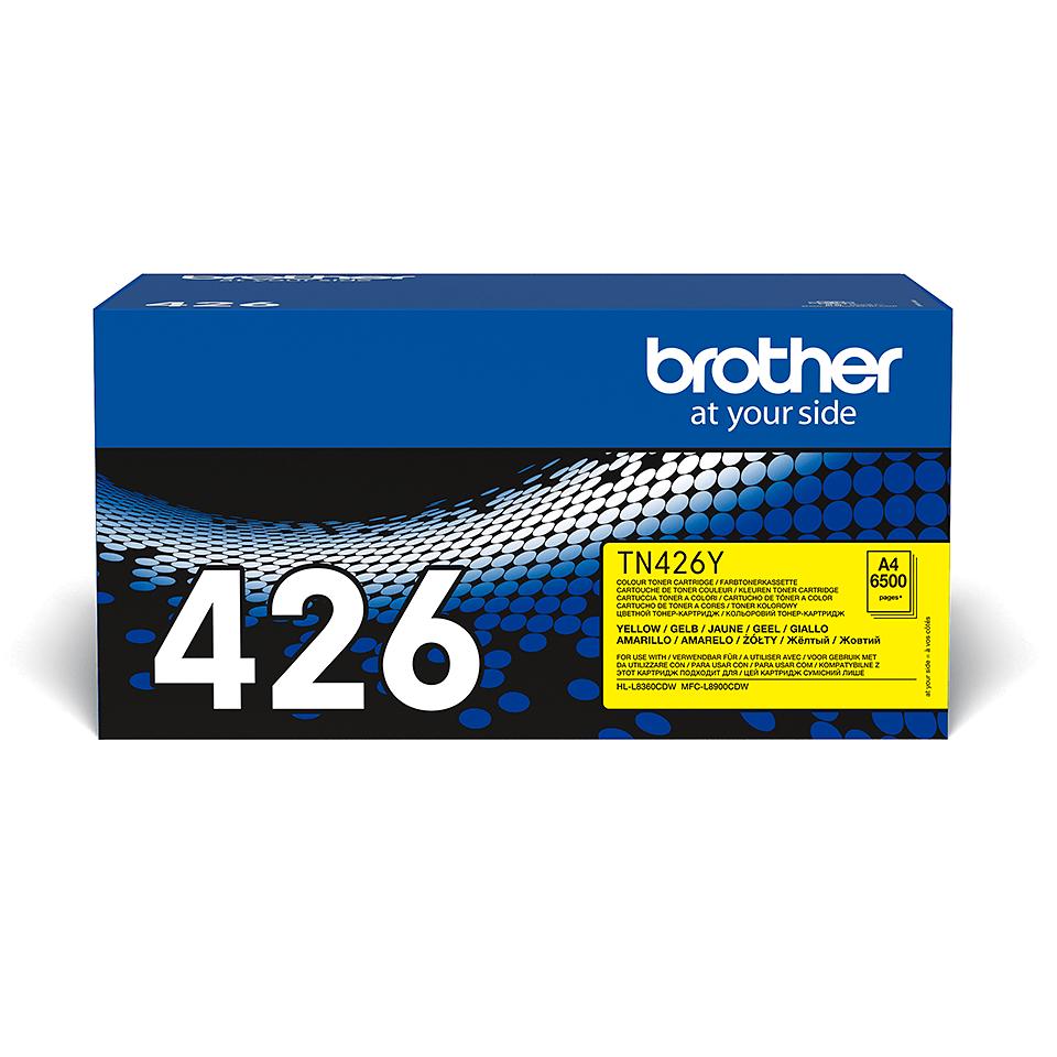 Brother TN-426Y Tonerkartusche – Gelb 2