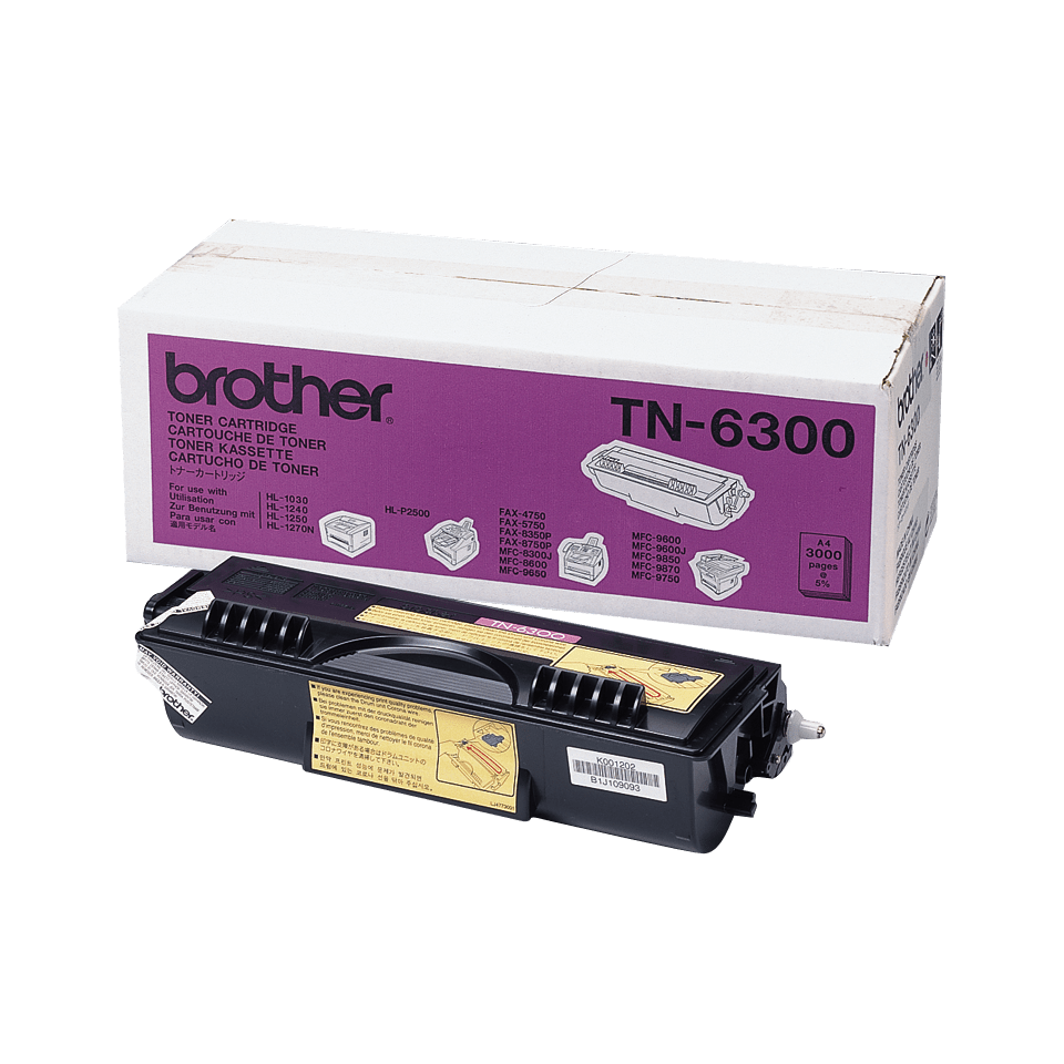 Brother TN-6300 Tonerkartusche – Schwarz