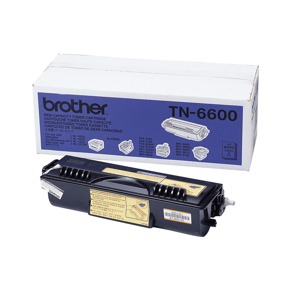 Brother TN-6600 Tonerkartusche – Schwarz