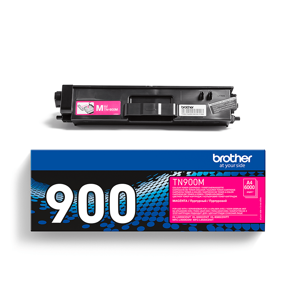 Brother TN-900M Tonerkartusche – Magenta 2