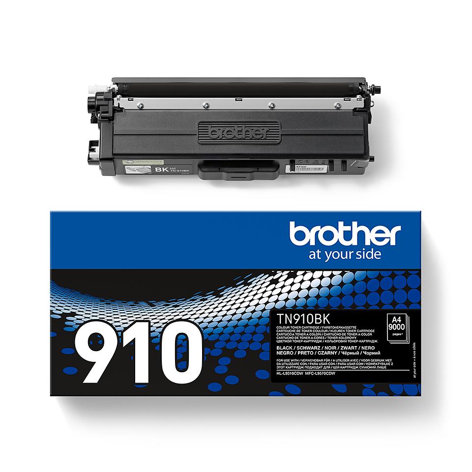 Brother TN-910BK Tonerkartusche – Schwarz 2