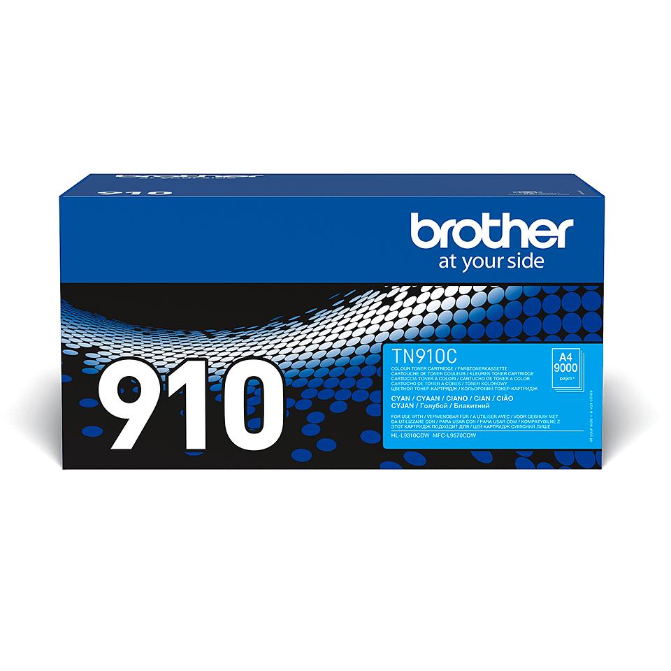 Brother TN-910C Tonerkartusche – Cyan