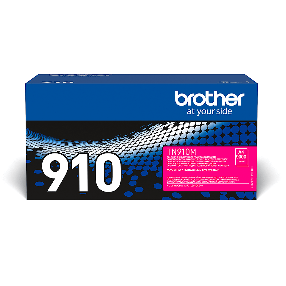 Brother TN-910M Tonerkartusche – Magenta