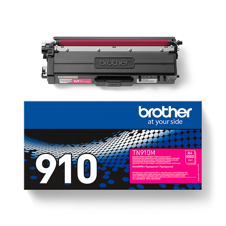 Brother TN-910M Tonerkartusche – Magenta 2