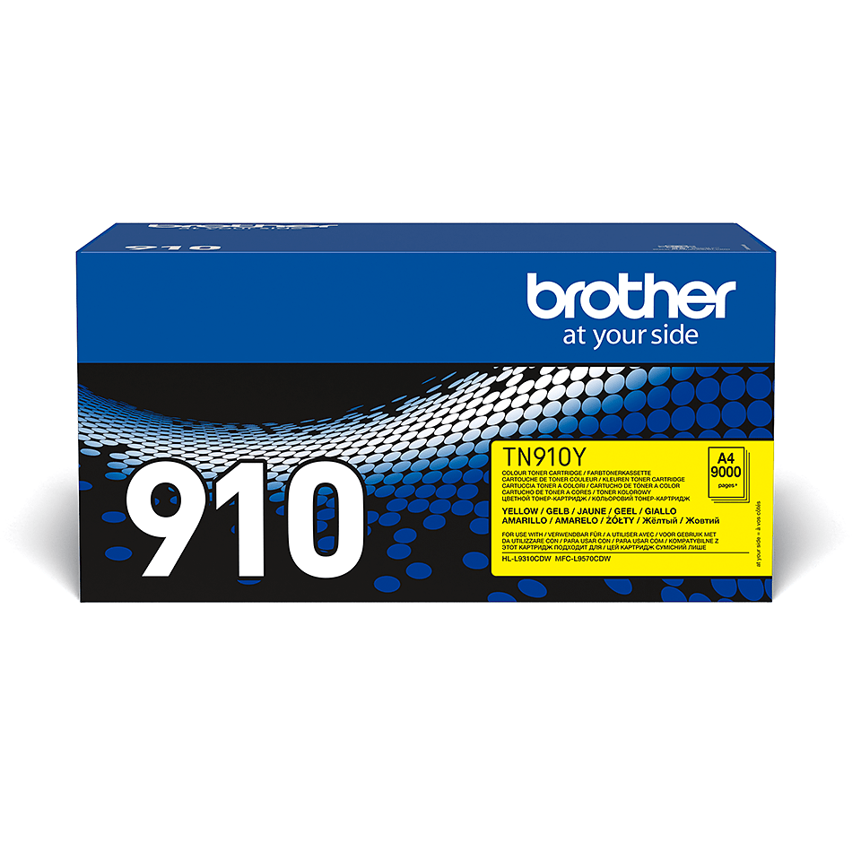 Brother TN-910Y Tonerkartusche – Gelb