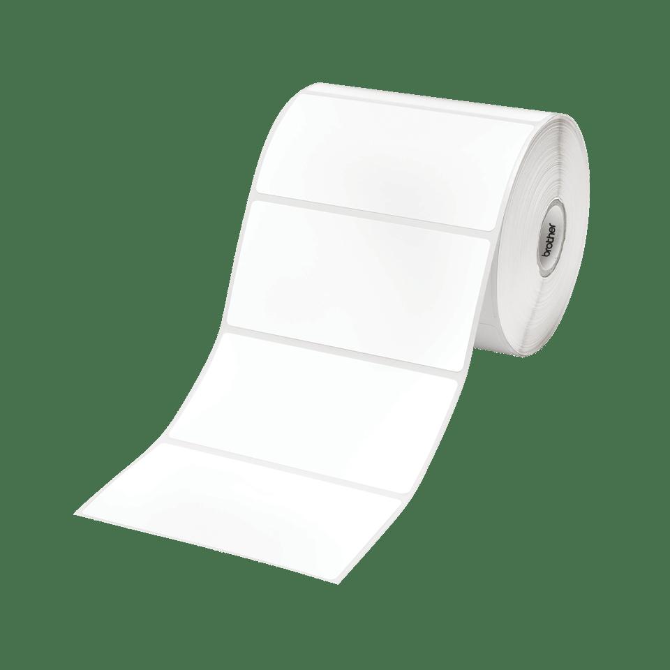 Brother RD-S03E1 Einzeletiketten – schwarz auf weiß
