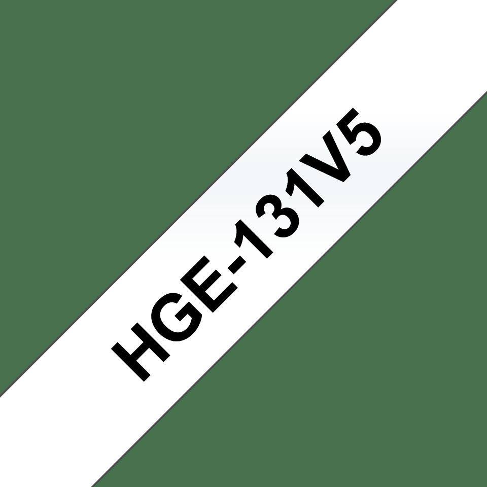 Brother HGe-131V5 Schriftband-Multipack 0
