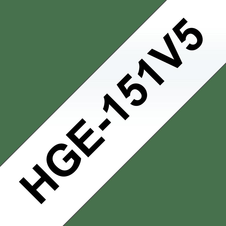Brother HGe-151V5 Schriftband-Multipack