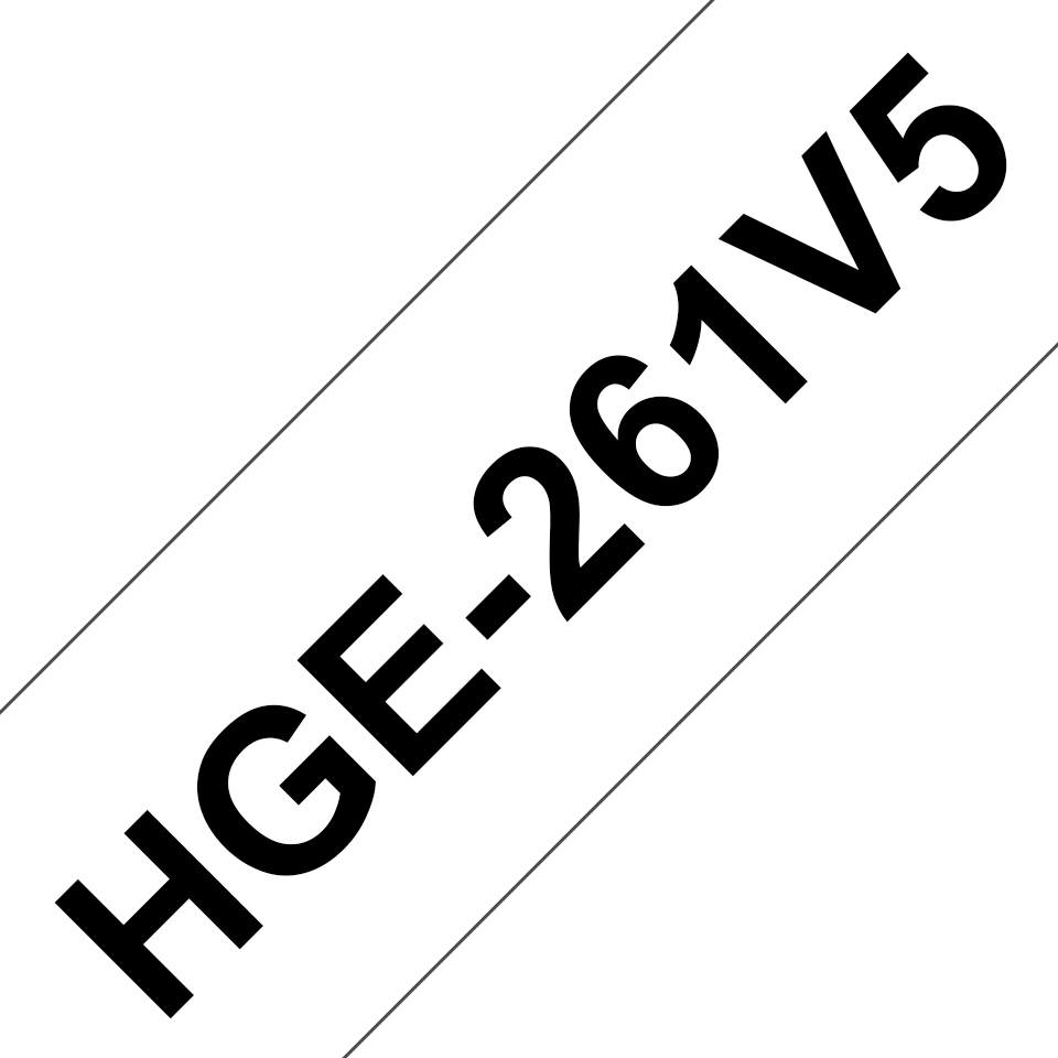 Brother HGe-261V5 Schriftband-Multipack 0