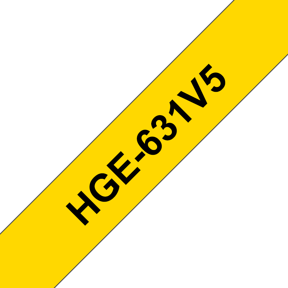 Brother HGe-631V5 Schriftband-Multipack