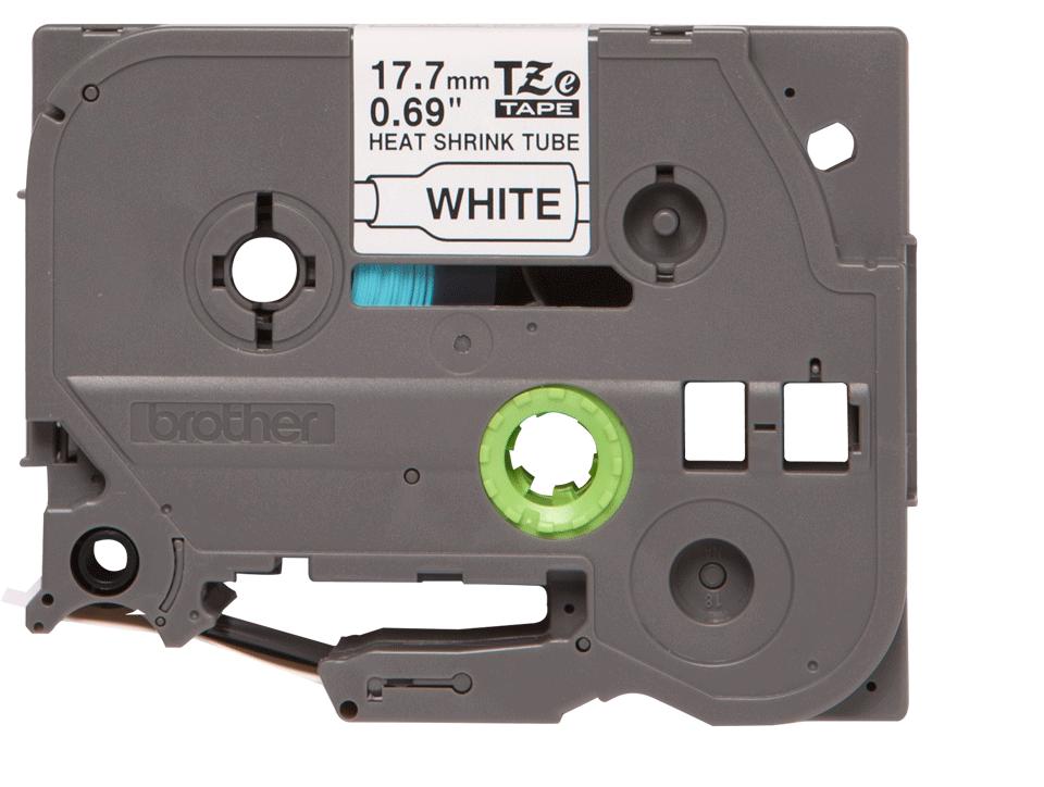 Brother HSe-241 Schrumpfschlauch – schwarz auf weiß 0