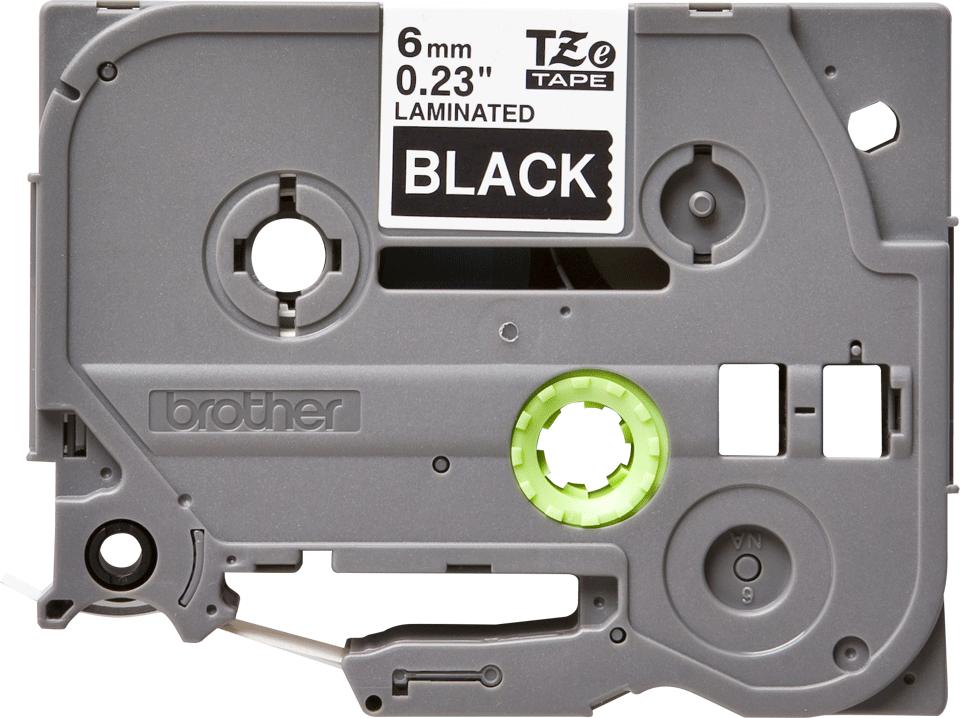 Brother TZe-315 Schriftband – weiß auf schwarz 0