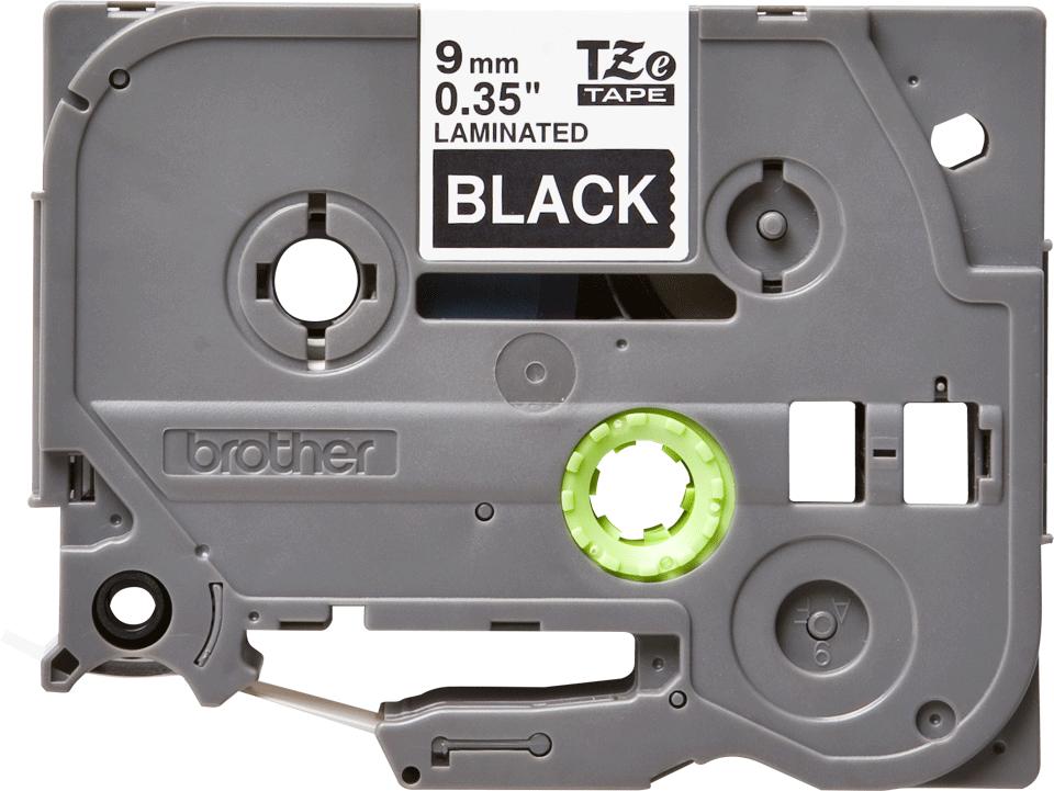 Brother TZe-325 Schriftband – weiß auf schwarz 0