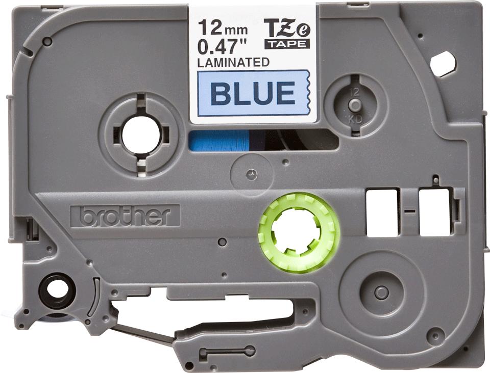 Brother TZe-531 Schriftband – schwarz auf blau