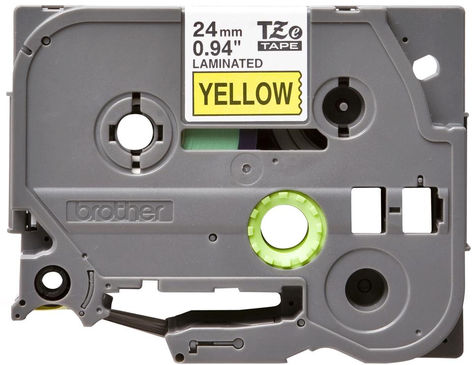 Brother TZe-651 Schriftband – schwarz auf gelb 3