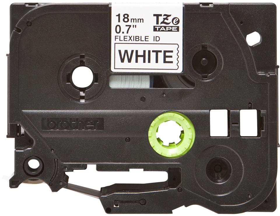 Brother TZe-FX241 Flexi-Tape – schwarz auf weiß 3